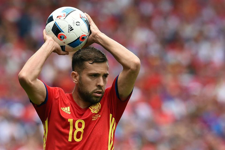 Jordi Alba sempat dilarang bermain karena sakit gigi